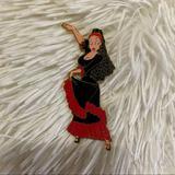 Disney Other   Disney Jessica Rabbit Spanish Dancer Enamel Pin   Color: Black/Red   Size: Os