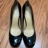 Nine West Shoes | Nine West Black Patent Leather Heels | Color: Black | Size: 9