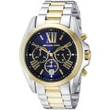 Michael Kors Accessories   Michael Kors Womens Bradshaw Two-Tone Watch 43mm   Color: Gold/Silver   Size: Os