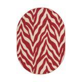 East Urban Home Lory Animal Print Beige/Red Area Rug in Brown/Red, Size 108.0 H x 72.0 W x 0.5 D in   Wayfair B8184141A679420B871F718B45704E62