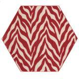 East Urban Home Lory Animal Print Beige/Red Area Rug in Brown/Red, Size 144.0 H x 144.0 W x 0.5 D in   Wayfair 895F5CA46B284E2A9B6DF3DFD7AC07A8