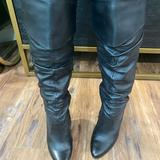 Jessica Simpson Shoes | Jessica Simpson Tulip Leather Boot Size 9 | Color: Black | Size: 9