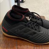 Adidas Shoes   Kids Adidas Indoor Soccer Shoes   Color: Black   Size: 3.5bb