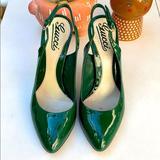 Gucci Shoes | Gucci | Sling Back Pumps | Color: Green | Size: 36 6