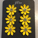 J. Crew Jewelry | Host Pick J. Crew Daisy Chain Earrings | Color: Gold/Yellow | Size: Approx. 3 Long
