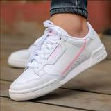 Adidas Shoes   Adidas Continental 80 True Pink Womens Size 11   Color: White   Size: 11