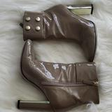 Gucci Shoes   Gucci Patent Leather Ankle Cuffed Boots   Color: Red   Size: 6.5