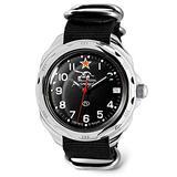 VOSTOK   Komandirskie 211306 Tank Commander Russian Military Mechanical Wrist Watch   WR 20 m   Fashion   Business   Casual Men's Watches   Black Strap B