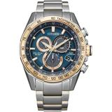 Chronograph Pcat Two-tone Stainless Steel Bracelet Watch 43mm - Metallic - Citizen Watches