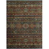 Noori Rug Handmade Aria Jayar Blue/Beige Rug, 9'1 x 12'1