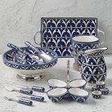 Piazza Ceramic Serving Collection - Wine Bucket Mist Grey , Wine Bucket - Frontgate