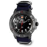 VOSTOK   Komandirskie 436306 Tank Commander Russian Military Mechanical Wrist Watch   WR 20 m   Fashion   Business   Casual Men's Watches   Blue Strap B