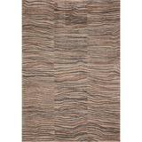Justina Blakeney x Loloi Chalos Abstract Sand Area Rug Polypropylene in Brown, Size 72.0 H x 48.0 W x 0.44 D in | Wayfair CHALCHA-03SAML4060