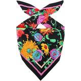 X Ken Scott Printed Scarf - Pink - Gucci Scarves