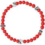 Coral Bead Bracelet - Red - King Baby Studio Bracelets