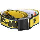 New Logo Industrial Belt - Yellow - Off-White c/o Virgil Abloh Belts