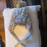 American Eagle Outfitters Accessories   American Eagle Warm Winter Hat   Color: Gray/White   Size: Os