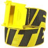Industrial Belt - Yellow - Off-White c/o Virgil Abloh Belts