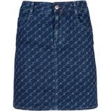 All Over Logo Mini Skirt - Blue - Stella McCartney Skirts