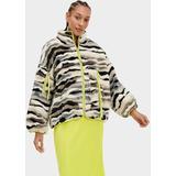 Marlene Jacket Cali Collage Sherpa Tops - Gray - Ugg Jackets