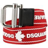 Belt With Logo - Red - DSquared² Belts