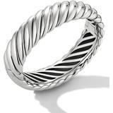 Sculpted Cable Bracelet - Metallic - David Yurman Bracelets