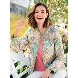 Women's Wildflower Reversible Quilted Jacket, Multi XL Misses
