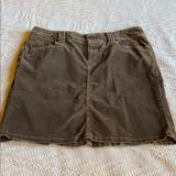 American Eagle Outfitters Skirts   8 American Eagle Stretch Cotton Brown Skirt Euc   Color: Brown   Size: 8