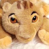 Disney Toys | Disney Simba Disneyland Plush Toy 10 Lion King | Color: Brown/Gold | Size: Osbb