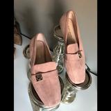Kate Spade Shoes | Light Pink Suede Loafers Size 6. | Color: Pink | Size: 6