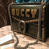 Gucci Bags | Gucci Dionysus Michel Cornice Stella Black Bag | Color: Black/Gold | Size: Length: 11.5 Height: 8 14 Depth: 2.5
