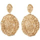 Vintage Lace Earrings - Metallic - Aurelie Bidermann Earrings