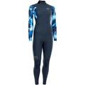 ION AMAZE AMP 4/3 BACK ZIP Full Suit 2021 blue capsule - M