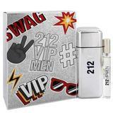 212 Vip by Carolina Herrera Gift Set -- 3.4 oz Eau De Toilette Spray + .34 oz Mini EDT Spray (Men)(Cheap goods)