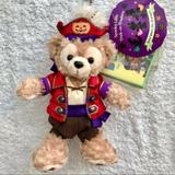 Disney Other | Duffy Pirate Plush Badge Tokyo Disney Sea Bear | Color: Brown/Red | Size: Os
