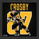 Highland Mint Sidney Crosby Pittsburgh Penguins 13'' x Impact Jersey Framed Photo