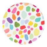 Oh Happy Day Paper Party Plates 8-Count, Multicolor
