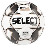 Select Brillant Super USL Soccer Ball White