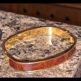 Anthropologie Jewelry   Healing Bracelet Bangle Jewelry Copper Brass   Color: Tan   Size: Os