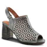 Spring Step L'Artiste Tammie - Womens Euro 36 US 5.5 - 6 Grey Sandal Medium
