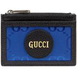 Off The Grid Card Case - Blue - Gucci Wallets
