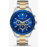 Oversized Layton Two-tone Watch - Metallic - Michael Kors Watches