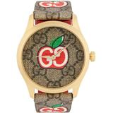 Gold & Valentine's Day G-timeless Watch - Brown - Gucci Watches