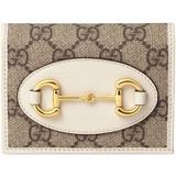 Horsebit 1955 Card Case Wallet - Natural - Gucci Wallets