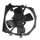 PartsFlow Radiator Cooling Fan Assembly For 1995-1998 Mazda Protege 620-754