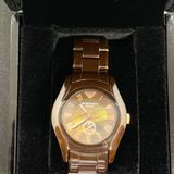 Michael Kors Accessories | Emporio Armani Ar1412 Ceramic Brown Women Watch | Color: Brown | Size: Os