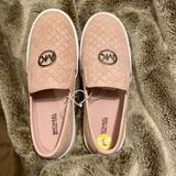 Michael Kors Shoes   Michael Kors Girls Pink Fashion Sneaker   Color: Pink   Size: 3bb
