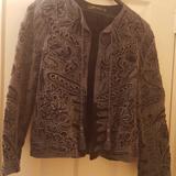 Zara Jackets & Coats   Blazer   Color: Blue   Size: M