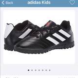 Adidas Shoes | Adidas Kids Soccer Shoes | Color: Black/White | Size: 4 12
