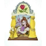 Disney Wall Decor   Disney Photo Frame Belle Beauty Beast Picture New   Color: Gold/Red   Size: Os